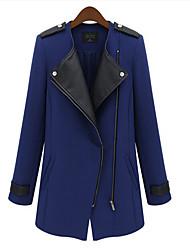 Taylor Women'S Zipper Tweed Bodycon Trench Coat