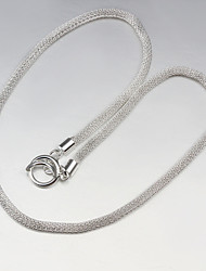 Uyuan Women's 925silver Delicacy Silver Ornament Necklace