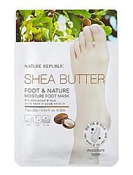 Nature Republic Shea Butter Moisture Foot Mask