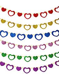 Wedding Décor 3M Sweet Love Paper Garland(More Colors)