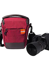 JIDUOXI S32 One-shoulder Camera Bag for Canon,Nikon wwith Lens cloth and Lens paper Random color(14.5*16.5*10.5cm)