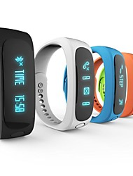 "E02 0.91"" OLED Wearable Smart Wristband Bracele Bluetooth4.0 Sleep Tracker Pedometer For Android/iOS IP57 Waterproof"