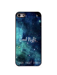 Personalized Phone Case - Good Night Design Metal Case for iPhone 5/5S