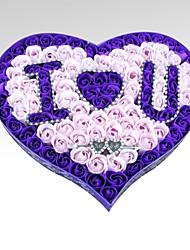 Valentine's Day Romance I Love You Soap Rose