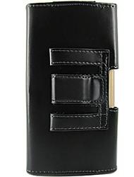 For LG Case Shockproof Case Pochette Case Solid Color Hard PU Leather LG
