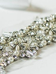Handmade Luxury Rhineston Crystal Wedding Bridal Belt/Sashes