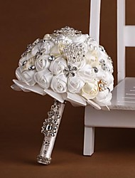 Newest Wedding Bride Holding Flowers Pure Handmade Private Custom Bouquet Wedding Pearl Bouquet