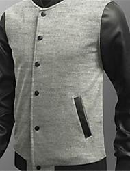 jaqueta de moda masculina quilt