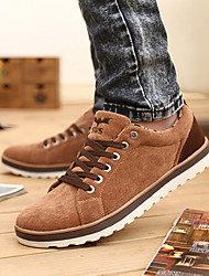 Men's Shoes Casual Fabric Fashion Sneakers Blue / Brown / Green