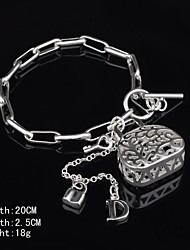 Fashion Sterling Silver Plated  Dangle Women's Bracelet