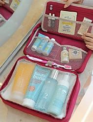 Makeup Storage Cosmetic Bag / Makeup Storage Cartoon 51*28*10 Grey / Blue / Green / Red