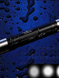 LED Flashlights/Torch / Handheld Flashlights/Torch LED 3 Mode 120 LumensWaterproof / Impact Resistant / Nonslip grip / Super Light /