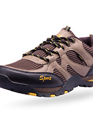 Men's Running Shoes Fabric Brown