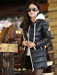YIBEIER® Women's Luxury Collars Casual Slim Warm Down Coat