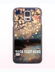 caja del teléfono personalizado - caso del diseño del metal de romance para samsung galaxy s5