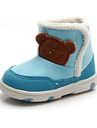 BBGOBBWORLD Baby Coral Fleece with Thick Boots Antiskid Cotton Shoes