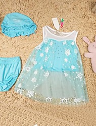 Girl's Blue Swimwear Nylon Winter / Spring / Fall