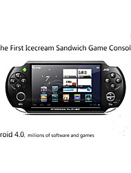 "JXD S5110 5"" Touch Screen Game Console 8GB MP5 Player Android 4.0 with OTG WiFi"