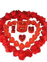 Rose Red Love Smokeless Fragrant Candle