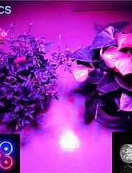 5W E26/E27 LED Spotlight MR16 5 SMD 500 lm Purple AC 85-265 V 5 pcs