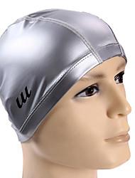 youyou unisex grote omvang van hoge kwaliteit pu waterdichte anti-slip bescherming van het haar gehoorbescherming wearable badmuts
