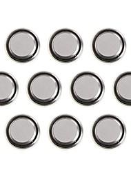 Кулей AG4 / L626 / SR626SW / lr66 / 377A батареи кнопки 1,55 щелочной элемент (10 шт)