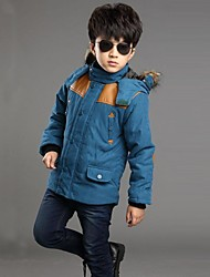 Boy's Cotton Blend / Wool Blend Down & Cotton Padded,Winter Solid