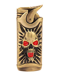The Bronze Skull Fashion Metal Windproof Lighters