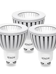 ienon® 3pcs GU10 3w 240-270lm fraîche lumière blanche / chaude conduit blub spot (100-240V)