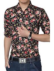 mannen bloem shirts