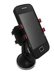 360 graus de rotação Clipe Quarteto otário Phone Holder-Black