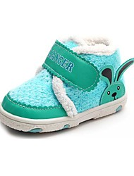 BBGOBBWORLD Baby Coral Fleece and Thicken Cotton Shoes anTiskid Boots