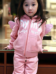 Children's Fashion Leisure Wing Clothing Set