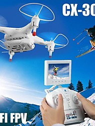 Cheerson CX-30S Drone Helicopter with HD Camera and FPV  Real-time Transmission Drone LED Light