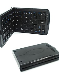 Ultra-thin Folding Wireless Bluetooth Keyboard - iPhone iPad (All), iPodTouch, Kindle Fire HD (All) and Others