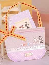 The Small Basket Mini Stereo Thank Greeting Card(6*4.2cm)