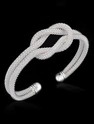 серебра способа женщины узел чистый Браслет-манжета