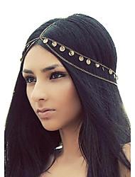 shixin® glands européennes bandeaux en alliage d'or pour les femmes (1 pc)