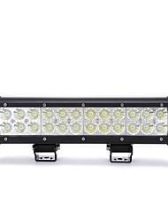 dy-sc6072 72w 6120lm 6000K 24-CREE LED weißes Licht Flutstrahl Geländelampe (10-30 V DC, schwarz)