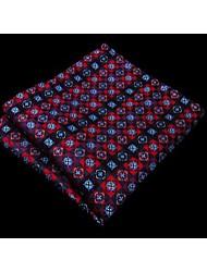 shlax ph4&ala floral roja bolsillo multicolor plaza mens pañuelos pañuelo