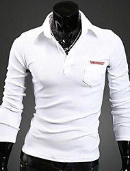 Men's Lapel Fashion Polo Shirts
