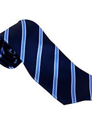 Dark Blue&Light Blue Striped Tie