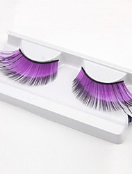 Purple Glow Carnival Eyelashes