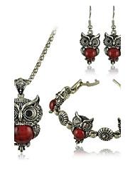 Bijoux Colliers décoratifs / Boucles d'oreille Mariage / Soirée / Quotidien / Décontracté Alliage / Turquoise 1set Femme ArgentCadeaux de