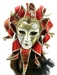 facciale stile veneziano maschera di carnevale antico
