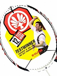 White Carbon Fiber Offensive Badminton Rackets SPEED 50