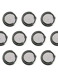 KuLei AG10/389A/1131/GP389/GP189/GP89/LR54/LR1130/390 1.55V Alkaline Cell Button Batteries (10 PCS)