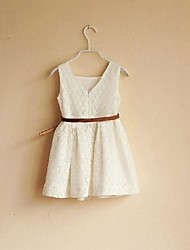 la robe de conception des réseaux de gilet de la mode des filles