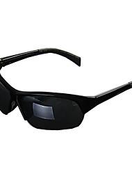Gafas de Sol hombres's Clásico / Deportes / Moda / Estilo de gafas de sol Envuelva Negro / Brillante Negro Ciclismo Media Montura