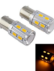 16W DC12V E1016LED,,80LM, High Power Car LED Fog Lamp, Energy Conservation, Environmental Protection(Orange)